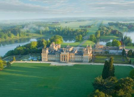 Blenheim Palace - Aerial view